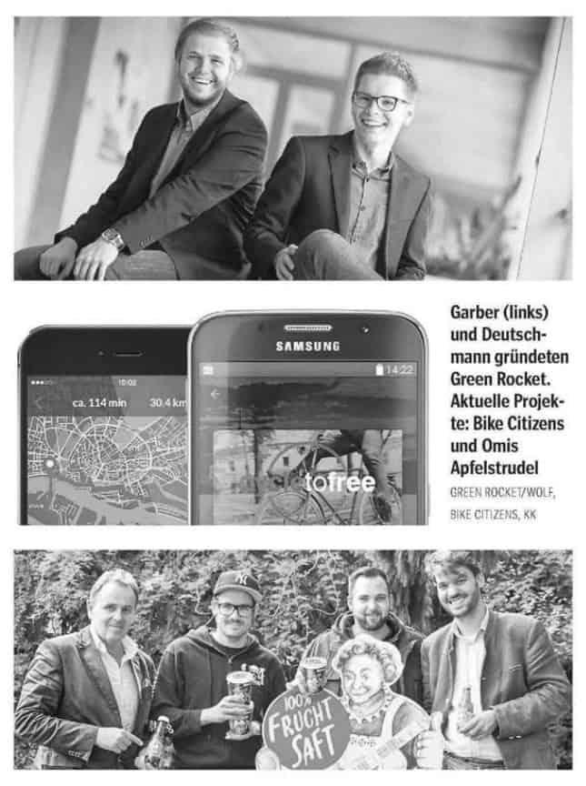 Kleine Zeitung Wolfgang Deutschmann Presse-Artikel